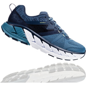 Hoka One One Gaviota 2 Running Shoes Herre moonlight ocean/aegean blue